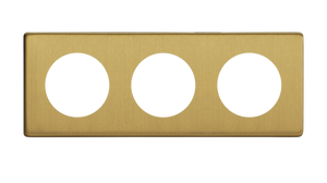 Triple Frame - Brushed Brass