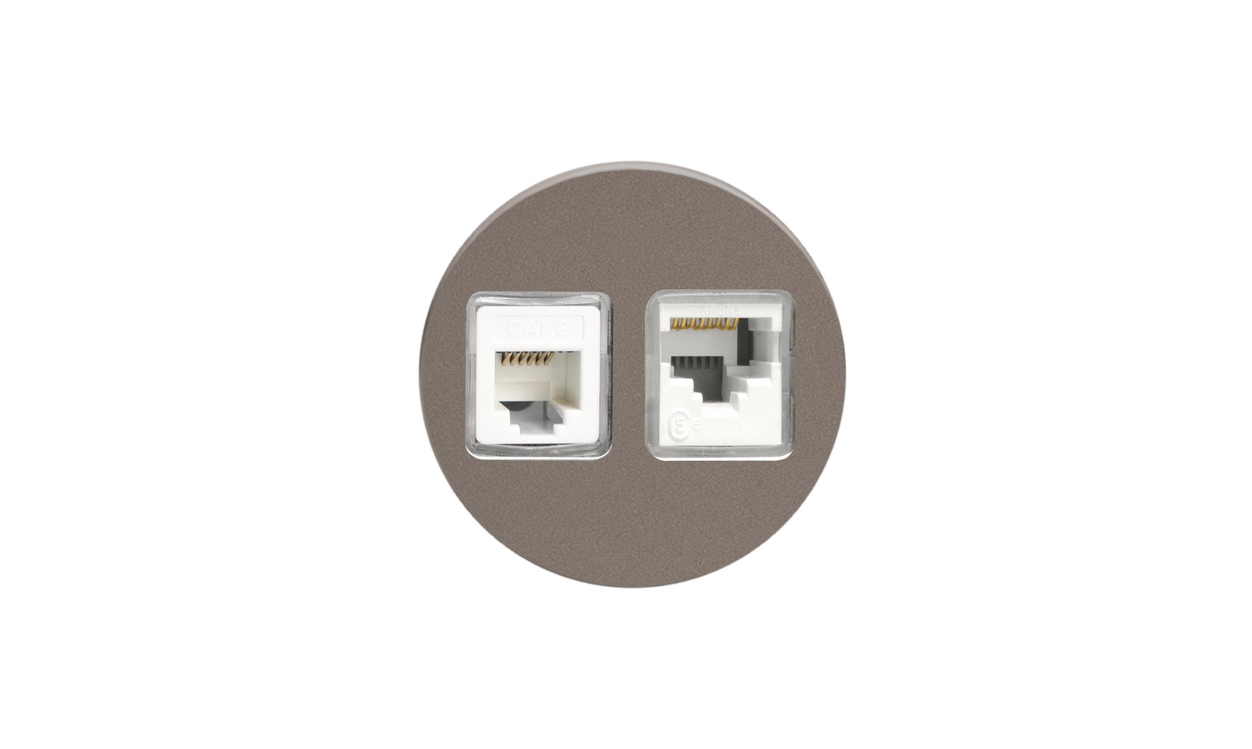 Double Ethernet - Pewter