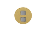 Double USB - Brushed Brass
