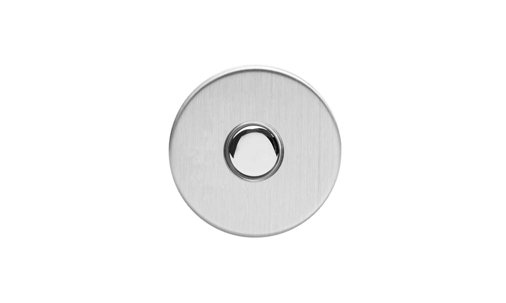 Touch Button - Brushed Steel