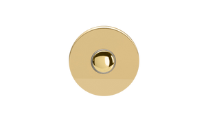 Touch Button - Polished Brass