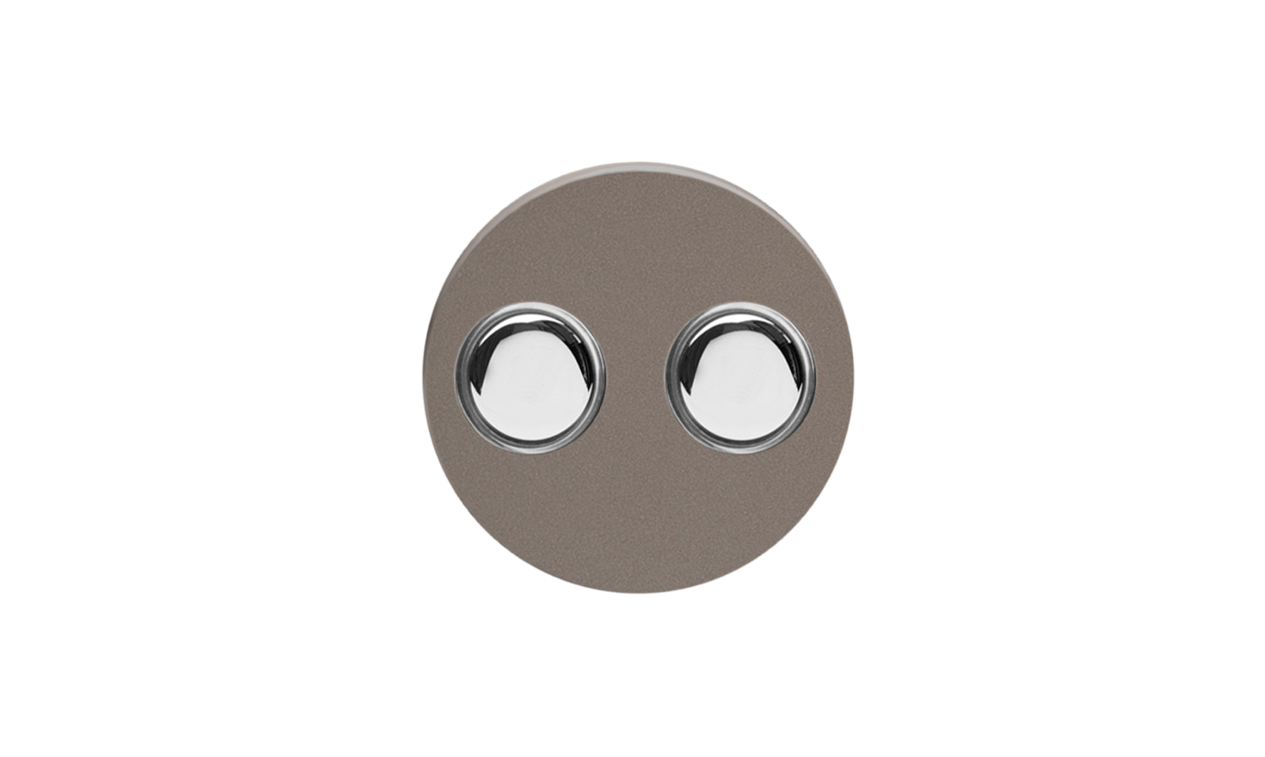 Double Dimmer (Non-LED) - Pewter