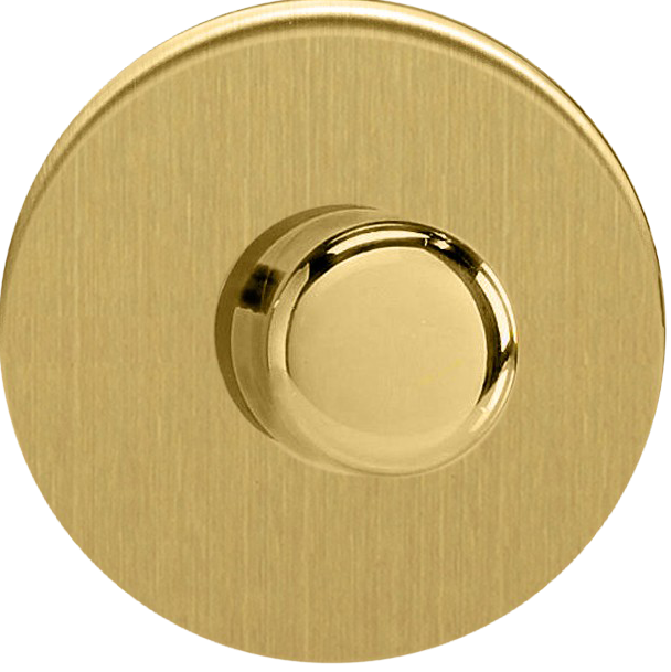 Universal Dimmer - Brushed Brass