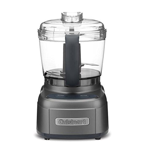 Cuisinart ECH-4GMFR Elemental 4-C Chopper Grinder, Gun Metal (Certified Refurbished)