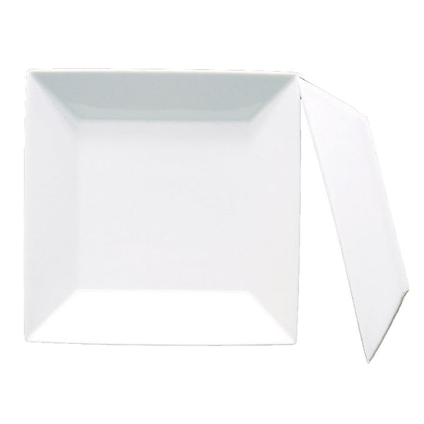 Fortessa Plaza 8.75 in. Square Plate Deep - Set of 4