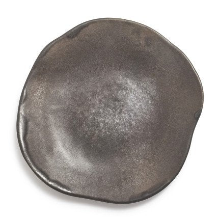 Fortessa Cloud Terre Simone Plate, Charcoal, 8""