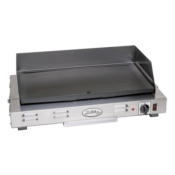 Broil King CG-10B Heavy Duty Countertop Commercial Griddle, Each, Gray, 24-Inch by 8-Inch by 16-Inch