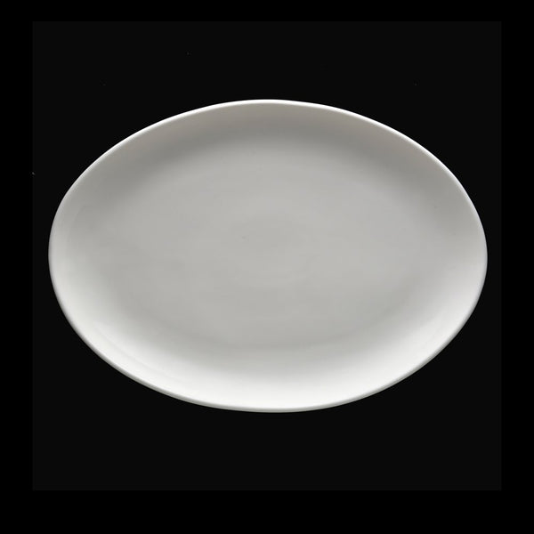 "Fortessa Caldera 7.75"" Coupe Oval Platter - Set of 4"