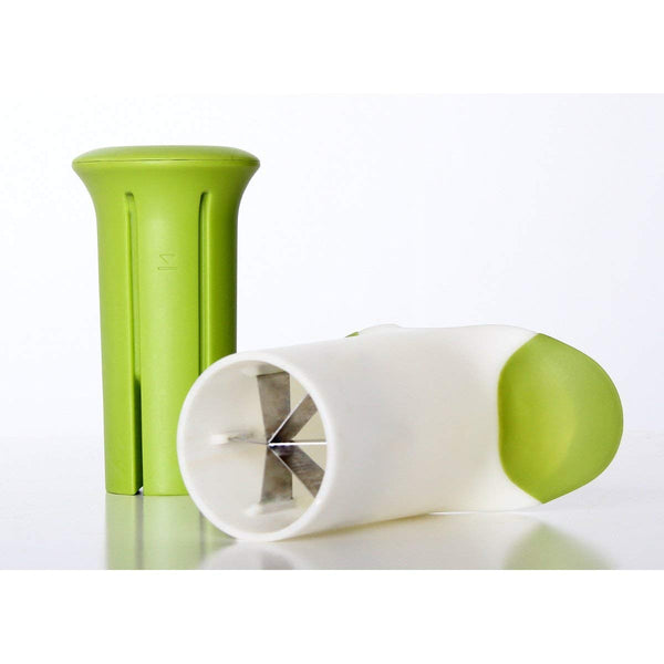 Microplane 48712 Veggie Wedgie Slicer, Green