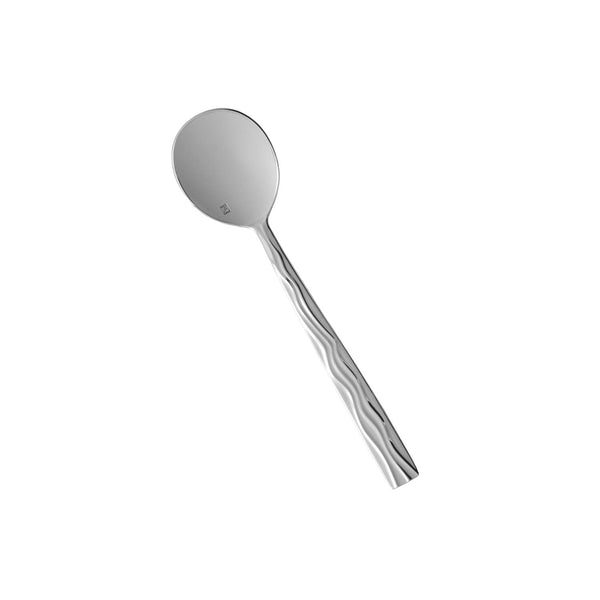 "Fortessa Dorada 18/10 Stainless Steel Flatware Bouillon Spoon, 7"", Set of 12"