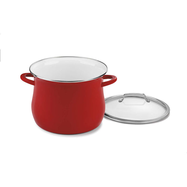 Cuisinart EOSB126-28R 12 Qt. Stockpot w/Cover - Red