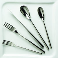 Fortessa Dragonfly 18/10 Stainless Steel Flatware Table Fork, 8.25""