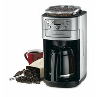 Cuisinart Grind & Brew DGB-700BC 12 Cup Coffeemaker (Black/Brushed Chrome)