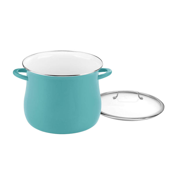 Cuisinart E0SB166-30TL 16 Quart Stockpot With Cover, Teal