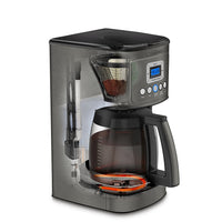 Cuisinart DCC-3200BKS 14 Cup Perfectemp Coffee Maker, Black Stainless Steel