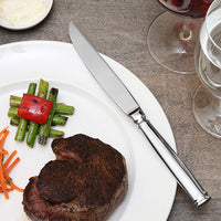 Fortessa Bistro 4 Piece Steak Knife Set in Silver