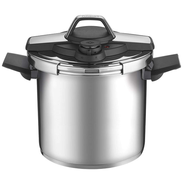 Cuisinart CPC22-8 Professional Collection Stainless Pressure cooker, Medium, Silver