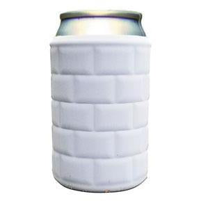 Corkpops SZAW1 22 Below Insulating Can Sleeve - Arctic White