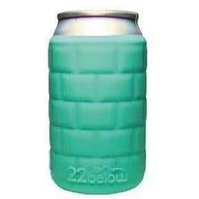 Corkpops SZCB1 22 Below Insulating Can Sleeve - Carribean Blue
