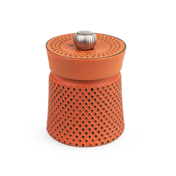 Peugeot 35426 Bali Cast Iron Pepper Mill, 3 Inch, Orange
