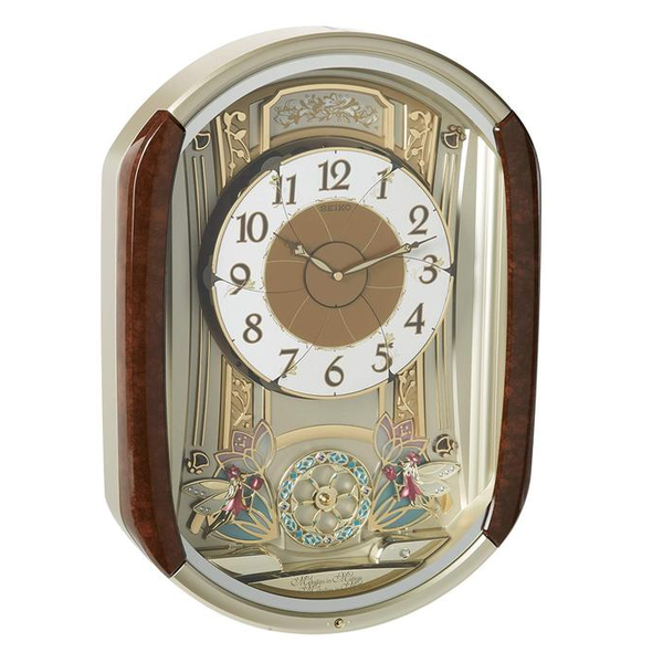 Seiko QXM275BRH Melodies in Motion Clock