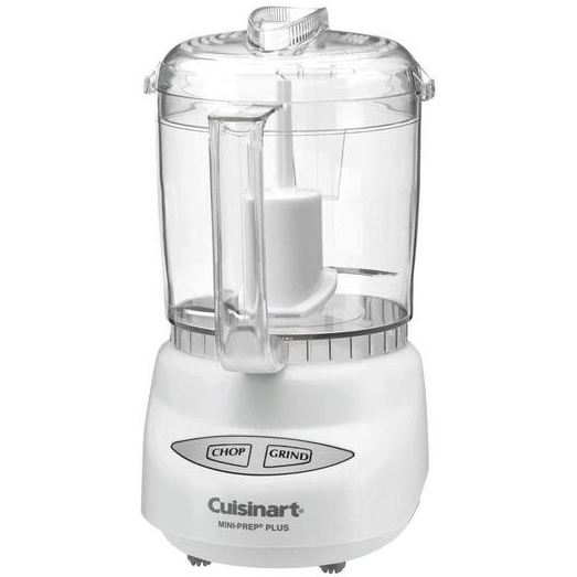 Cuisinart CGC-4WPCFR 4-Cup Mini Prep Food Processor, White (Certified Refurbished)
