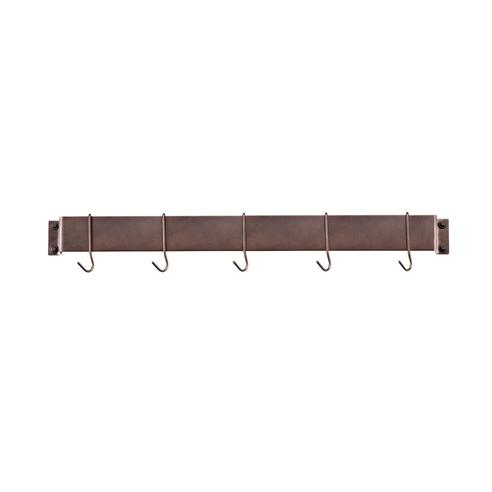 Cuisinart CRBW-33ORB Chef's Classic 33-Inch Bar-Style Wall-Mount Pot Rack, Oil-Rubbed Bronze