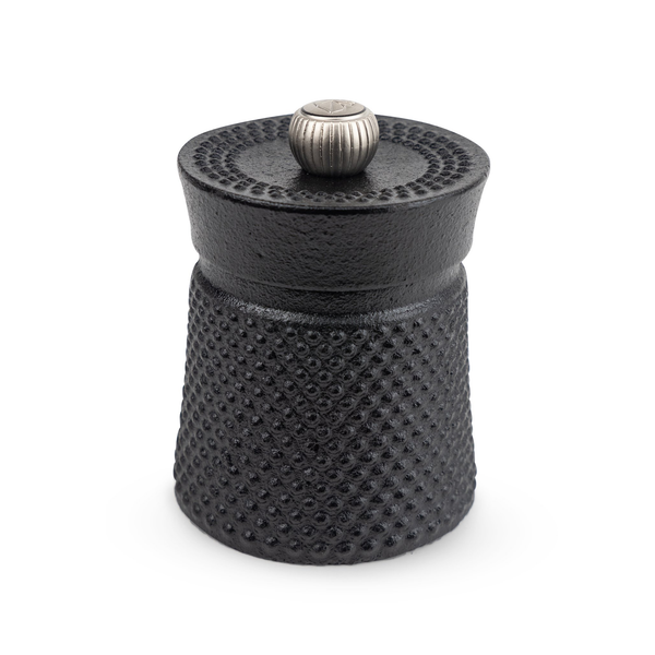 Peugeot 35402 Bali Cast Iron Black Pepper Mill, 3 Inch, Black