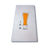 "CorkPops 66660 ""IPA"" BEER Bar Towel"