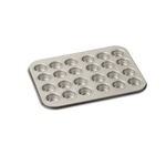 Cuisinart AMB-24MMPCH Chef's Classic Nonstick Bakeware 24-Cup Mini Muffin Pan, Champagne