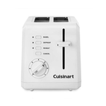 Cuisinart CPT-122FR Compact 2-Slice Toaster, White (Certified Refurbished)