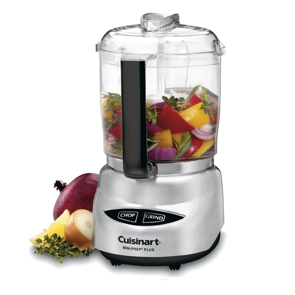 Cuisinart DLC-4CHB Mini-Prep® Plus 4 Cup Food Processor