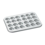 Cuisinart AMB-24MMP Chef's Classic Nonstick Bakeware 24-Cup Mini Muffin Pan, Silver