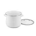 Cuisinart EOSB166-30W 16 Quart Stockpot With Cover, White
