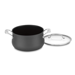 Cuisinart 6445-22 Contour Hard Anodized 5-Quart Dutch Oven with Cover