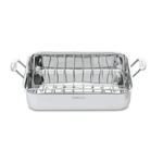Cuisinart 7117-16UR Chef's Classic Stainless 16-Inch Rectangular Roaster with Rack