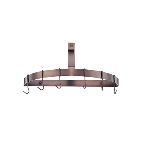 Cuisinart CRHC-22ORB Chef's Classic Half-Circle Wall-Mount Pot Rack, Oil-Rubbed Bronze