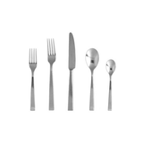 Fortessa Spada 18/10 Stainless Steel Flatware 20 Piece Place Setting, Service for 4