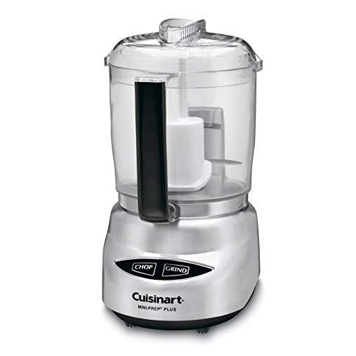 Cuisinart CGC-4PCFR 4-Cup Mini Prep Food Processor, Silver (Certified Refurbished)