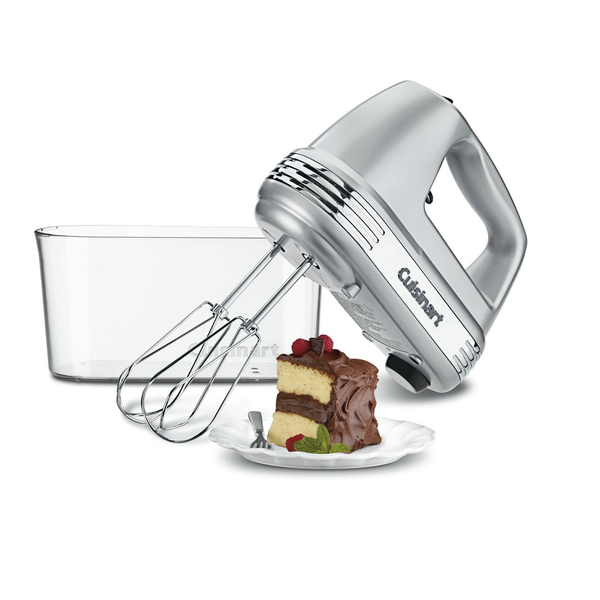 Cuisinart HM-90BCS Power Advantage® Plus 9-Speed Mixer, Storage Case (Brushed Chrome)
