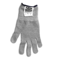 Microplane 34007 Cut Resistant Glove Keep Hands Safe in The Kitchen, One Size, silver