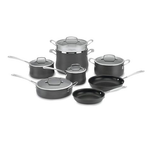 Cuisinart 64-13 Contour Hard Anodized 13-Piece Cookware Set