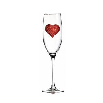 Corkpops 0900-009-600 Red Heart Champagne