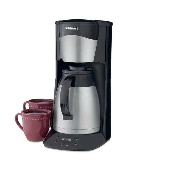 Cuisinart DCC-1150BK 10-Cup Thermal Programmable Coffeemaker (Black) (Thermal Carafe)