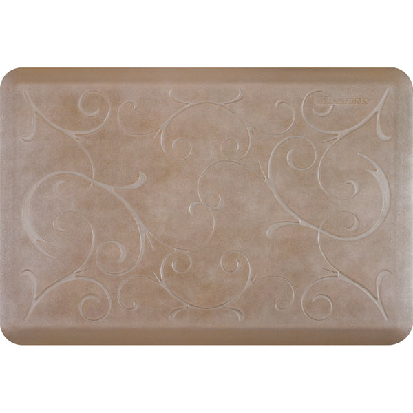 WellnessMats Estates Bella Anti-Fatigue Floor Mat Sandstone