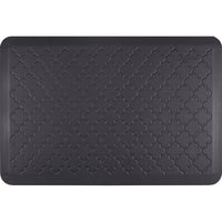 WellnessMats Estates Trellis Anti-Fatigue Floor Mat - Midnight Blue