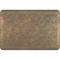 WellnessMats Estates Trellis Anti-Fatigue Floor Mat - Antique Gold