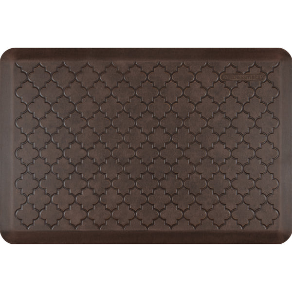 WellnessMats Antique Trellis Anti Fatigue Mat - Antique Dark