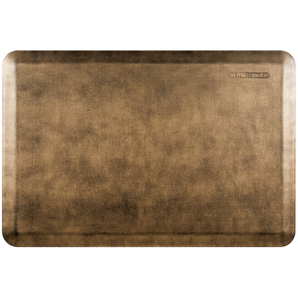 WellnessMats Estates Linen Anti-Fatigue Floor Mat - Bronze