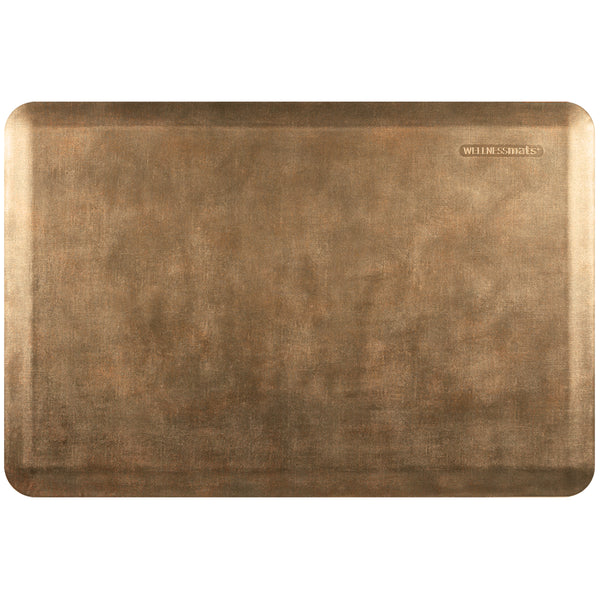 WellnessMats Estates Linen Anti-Fatigue Floor Mat - Burnished Copper
